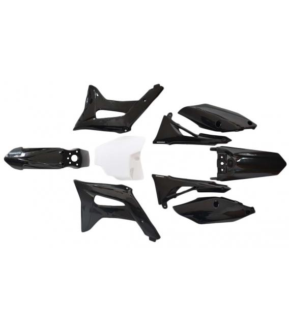 Plasticos XZR 712 negros