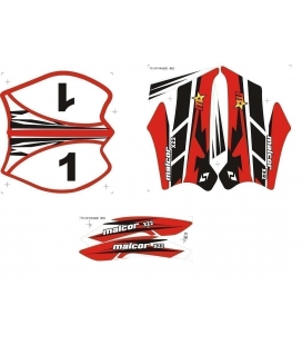Sticker kit kxd 708