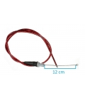 Throttle cable fast 1/4
