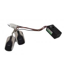 Alarm system for electric skateboard