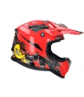 Helmet shiro MALCOR MX-306 red