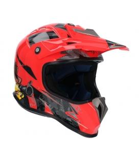 Casco shiro MTR MX-306 rojo