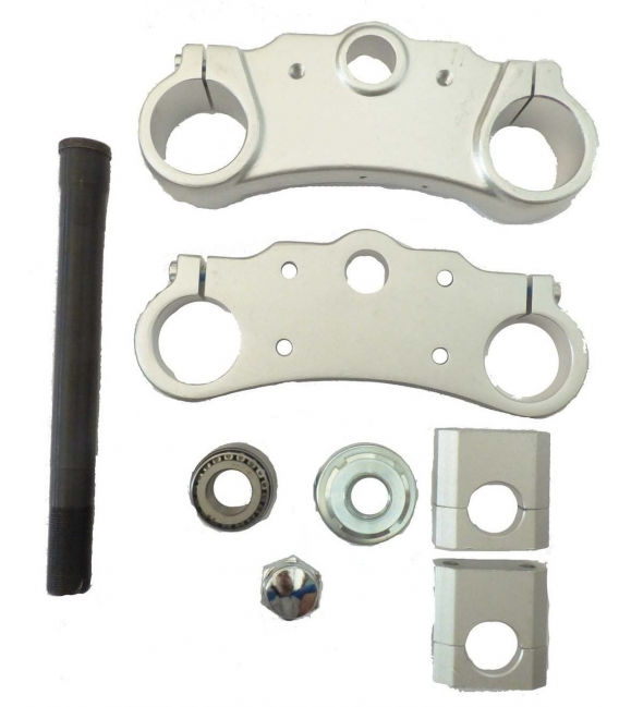 Assy clamps and riser 170mm