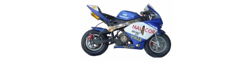 Spare parts minibike gas