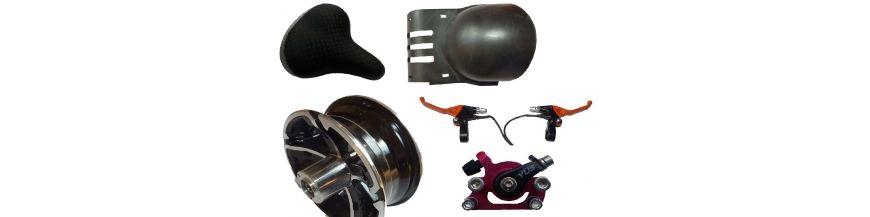Spare parts skateboard