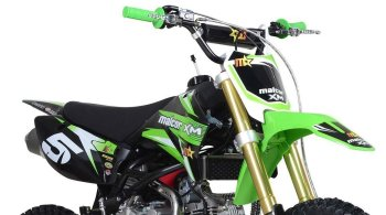 recorte de la malcor xm160 moto cross