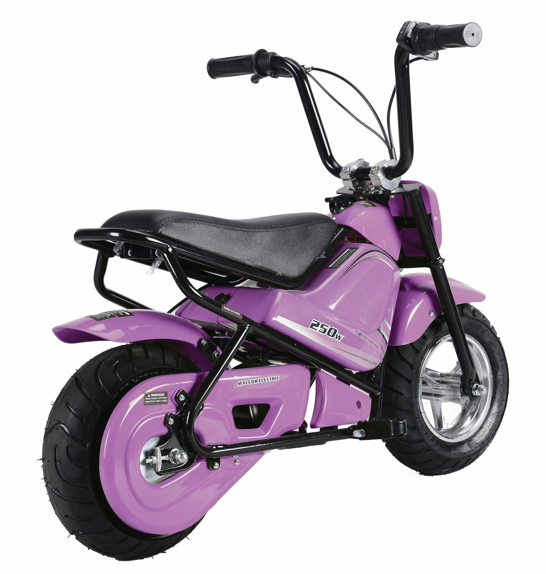 minimoto electrica niños color rosa