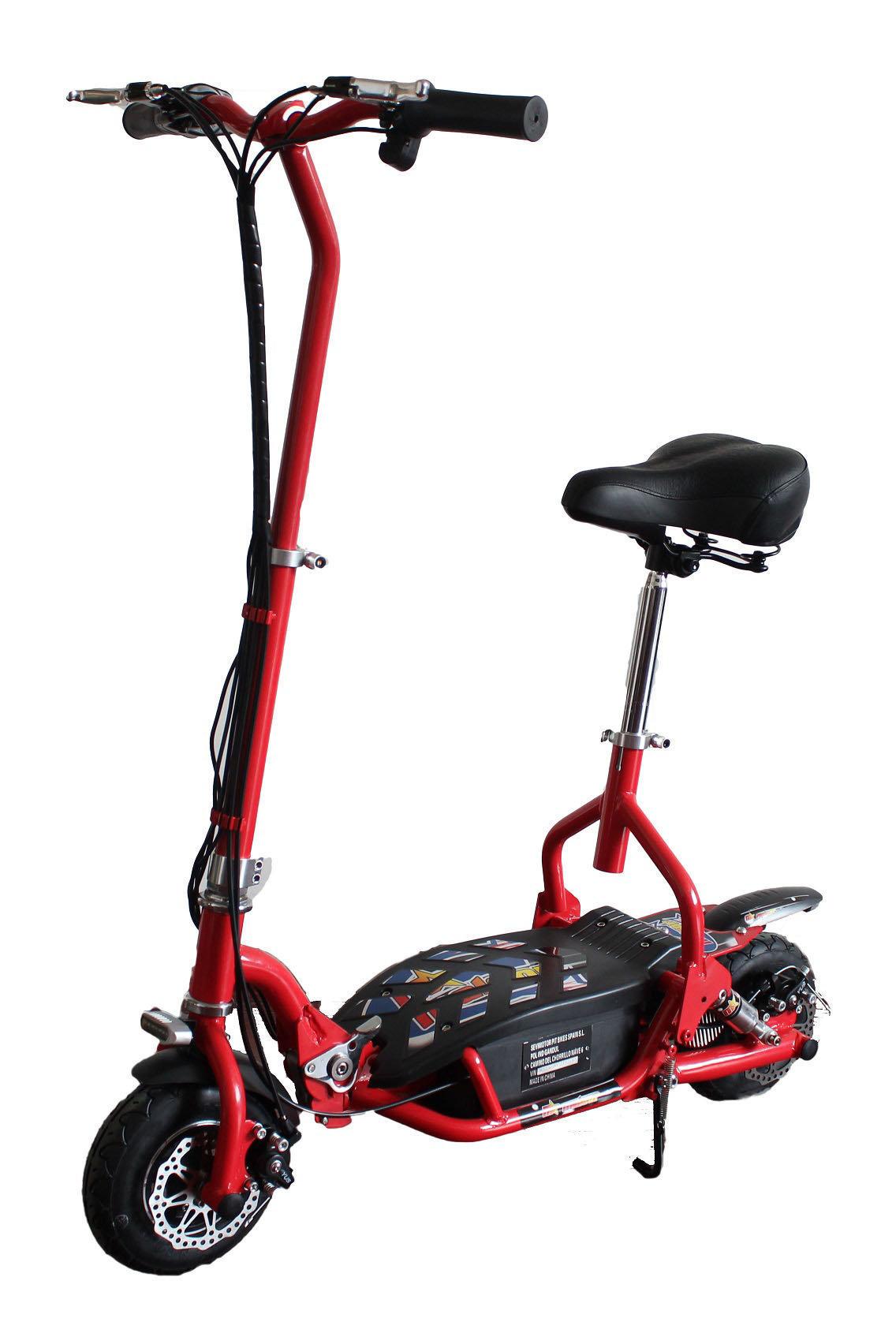 patinete electrico para niños de 300w rojo