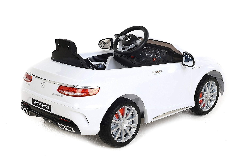 coche electrico para niños mercedes benz amg modelo s63