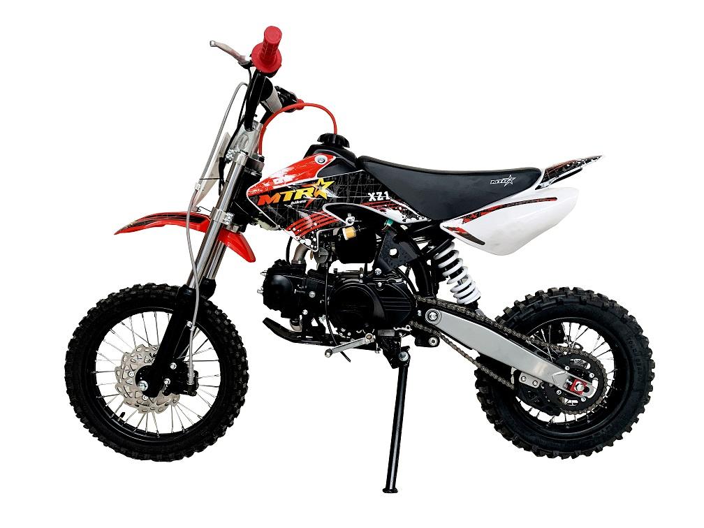 Pit bike malcor modelo xz1 de 125cc en color rojo