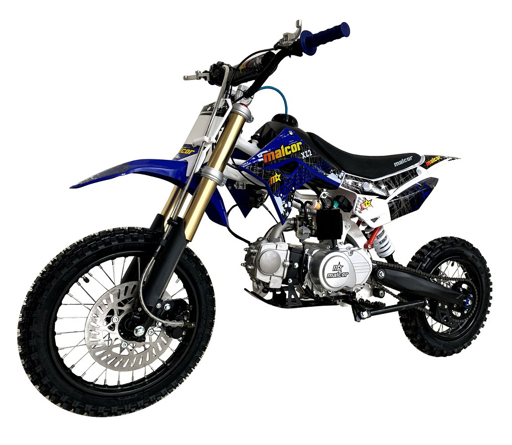 minicross barata malcor xz2 en 125cc con motor de 4 tiempos