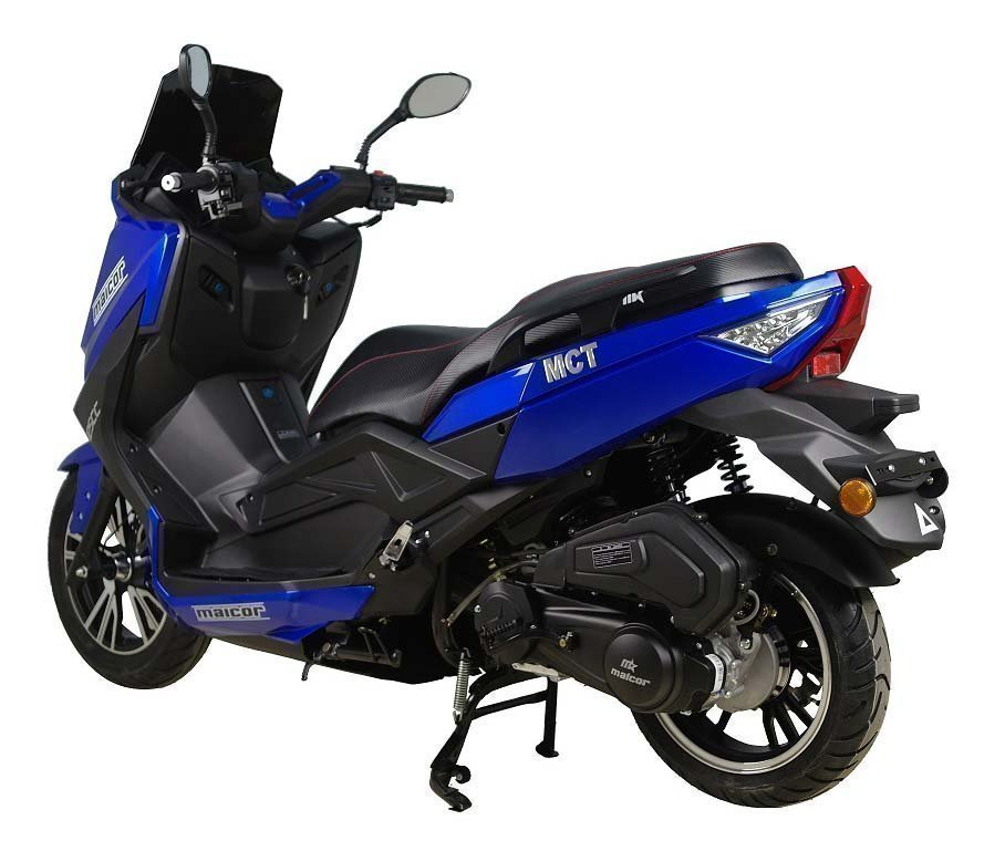 Malcor mct scooter color azul en 125cc