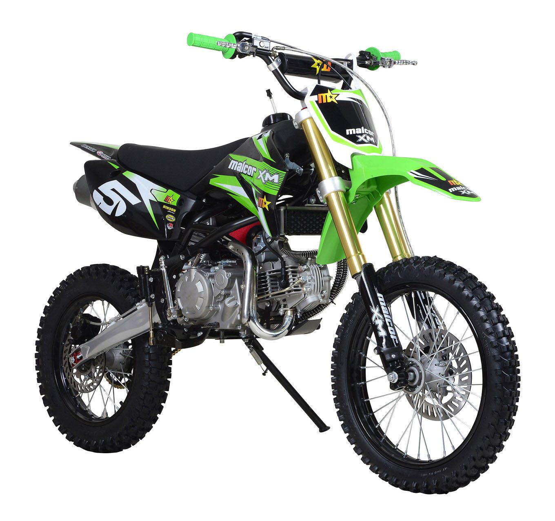 perfil malcor xm160 off road, pit bike de cross