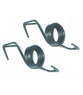 Footrest spring pair